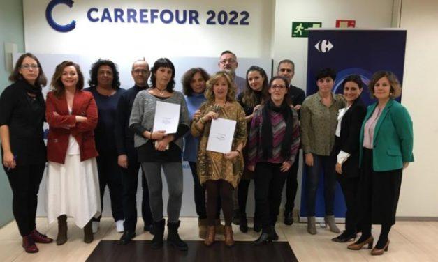UGT firma los planes de Igualdad de Hipermercados Carrefour y Grupo Champion
