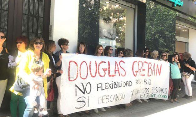 Las dos jornadas de huelga desbloquean la negociación sobre la propuesta de modificación sustancial de condiciones laborales en Douglas y posibilitan un preacuerdo