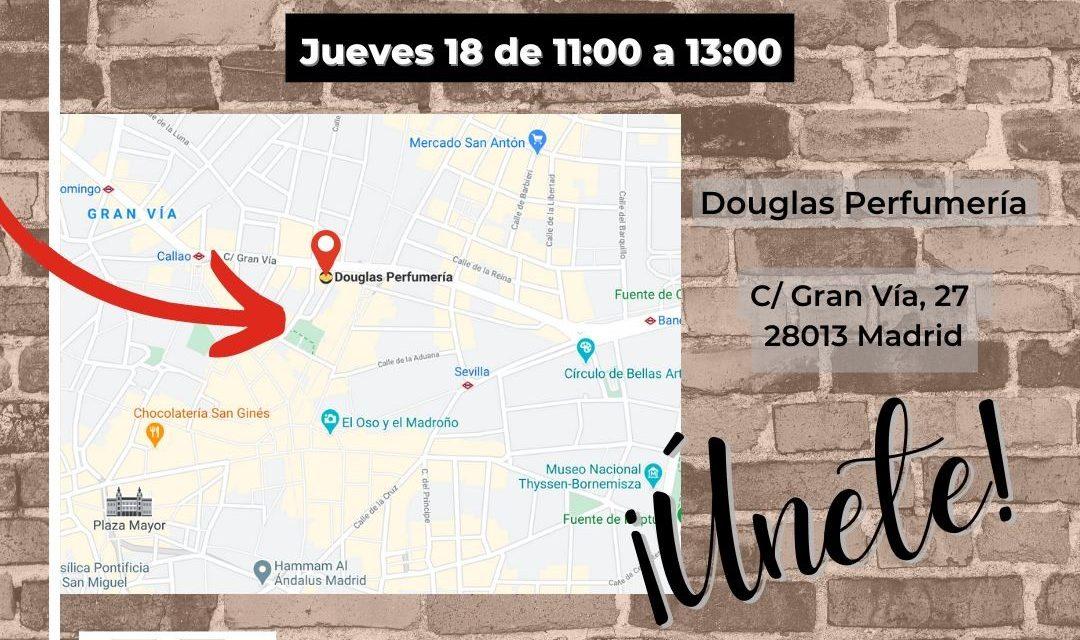 Nuevas protestas de los trabajador@s de DOUGLAS en Madrid