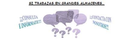 Damos respuetas: Boletín nº 2 del Gabinete de asistencia e información sobre PRL en Grandes Almacenes (comercio al por menor)