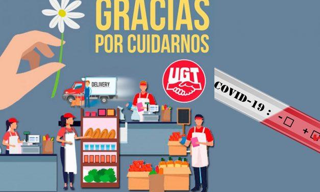 UGT insta al comercio a no abrir festivos y domingos en Asturias, mientras persista el estado de alarma por el COVID-19